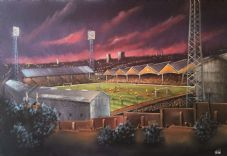 Those European nights Molineux unframed A3 Print
